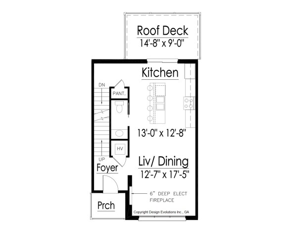 modern contemporary house floor plan