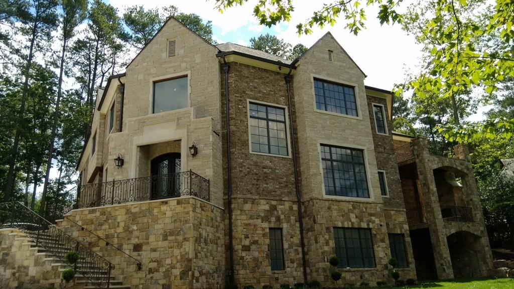 Harrison Tudor Elevation Design - Design Evolutions Inc., GA