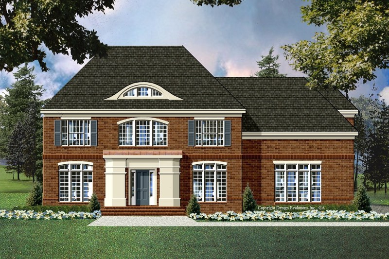 Hampshire Hills house plan rendering