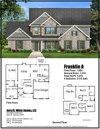 home builder marketing brochure