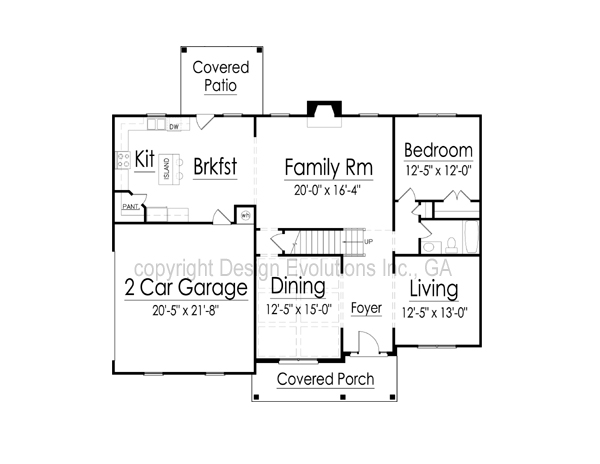 Montana first floor