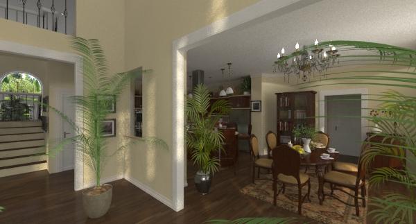 Lexington breakfast rendering