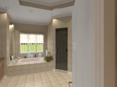 Renica master bathroom