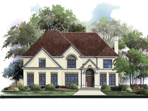 Hancock elevation rendering