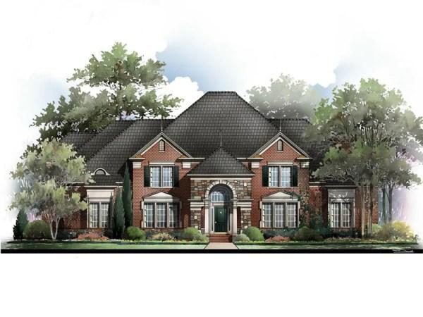 Lexington house plan rendering
