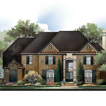 Primrose house plan rendering
