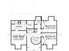 Burn second floor