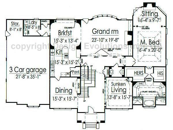 Lexington first floor