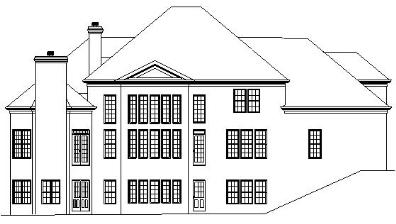 Lexington rear elevation