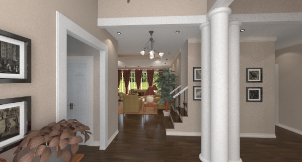 Collins foyer
