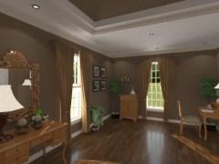 Collins master bedroom sitting