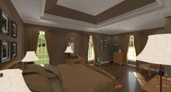 Collins master bedroom