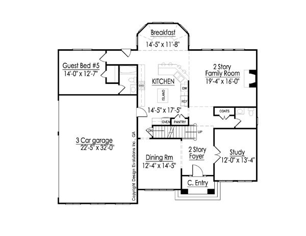 Hancock first floor