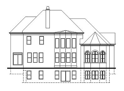 Merriweather rear elevation