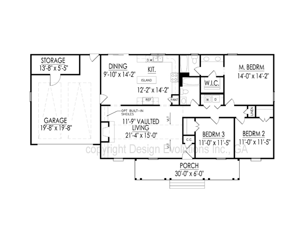 Carolyn floor plan