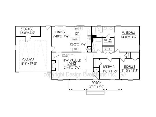 Carolyn floor plan