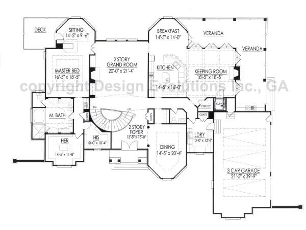 Mansart first floor