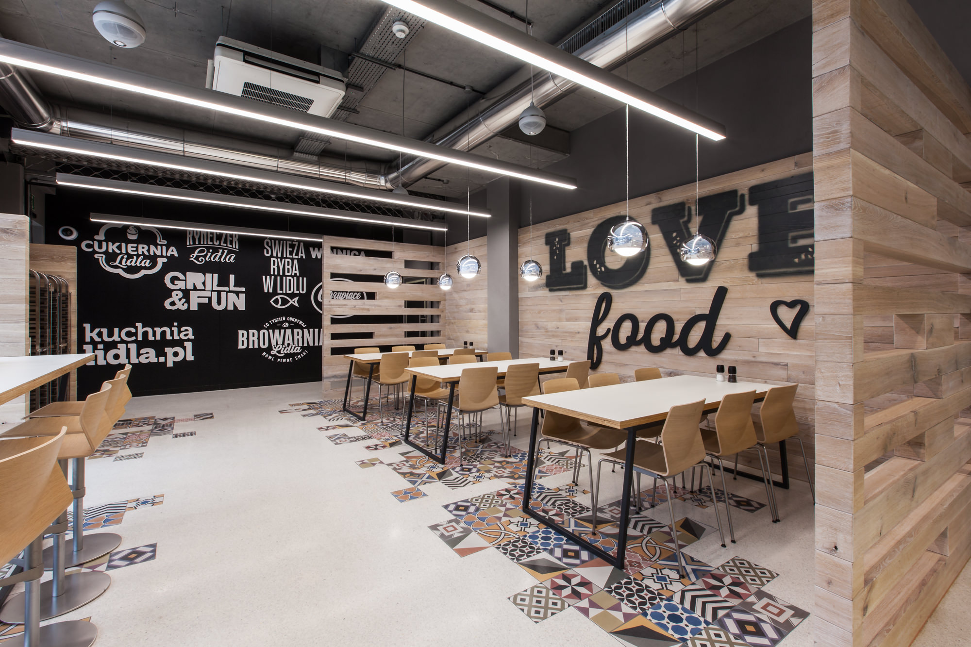 Lidl Restaurant By Modelina Architekci Design Father
