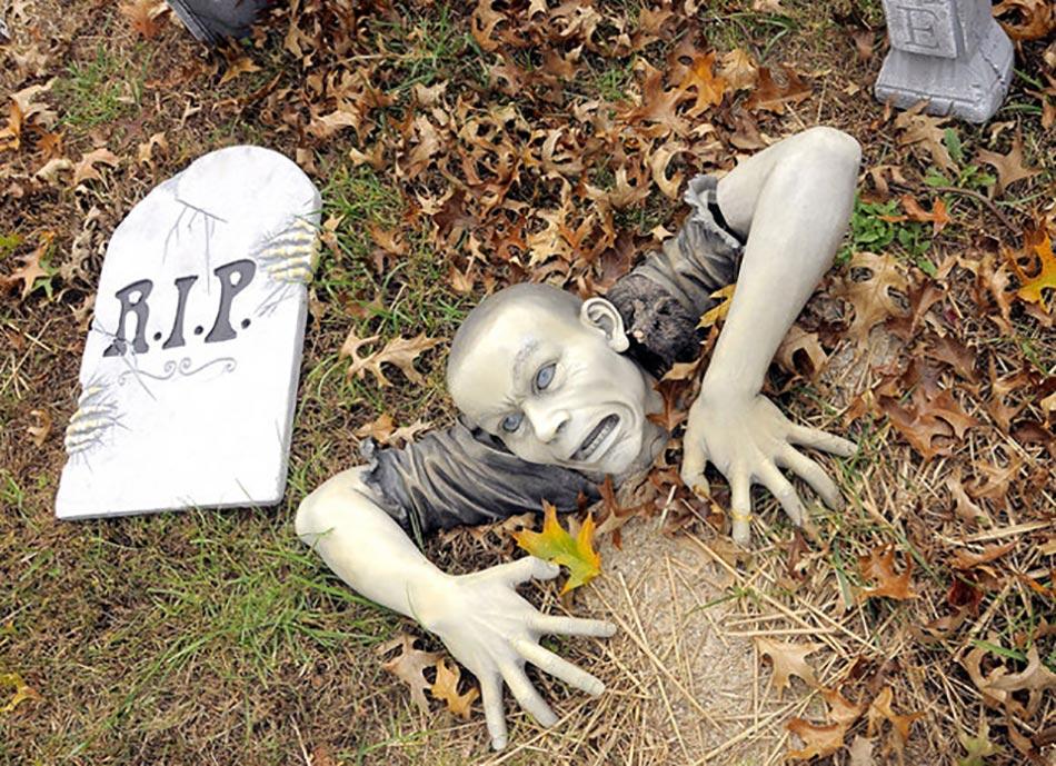 Decoration Halloween Exterieur Fait Maison
