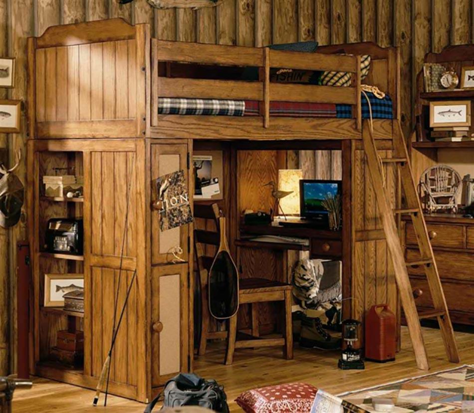 lit mezzanine pour une chambre d ado