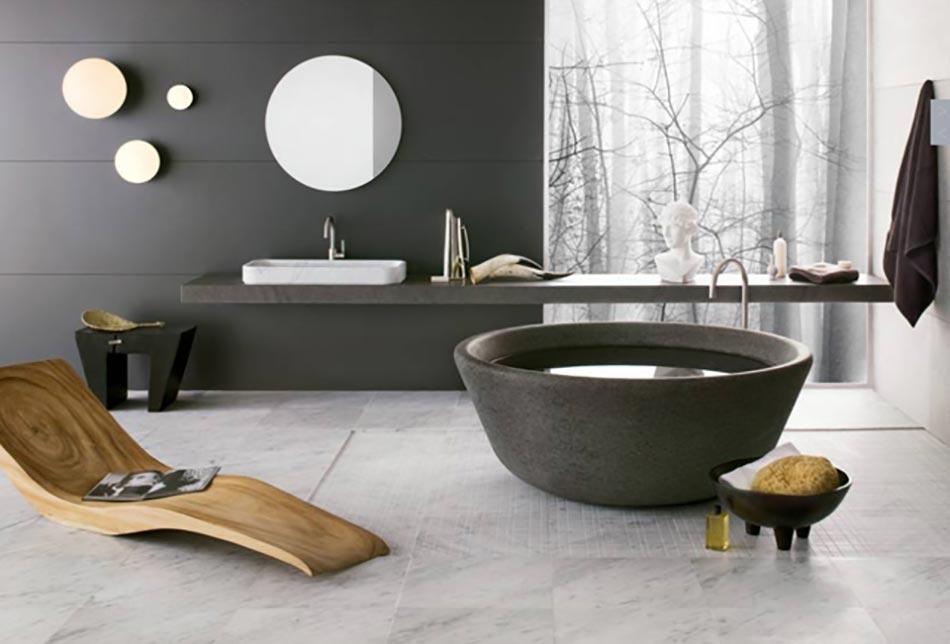 salle de bain en marbre qui nous fait