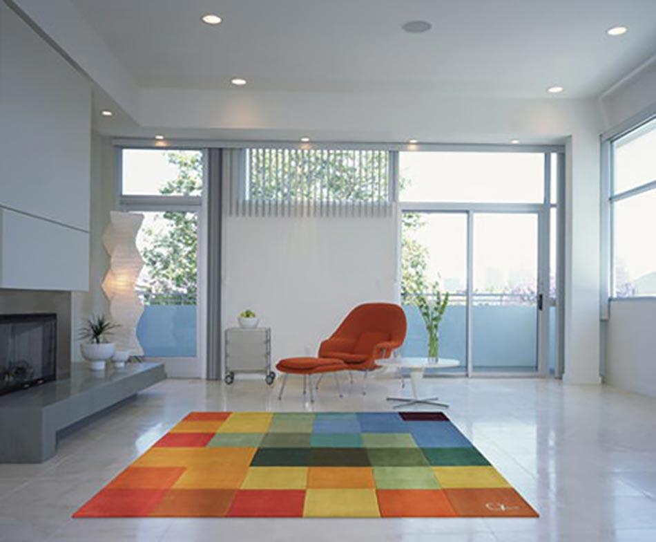 tapis de sol moderne enredada