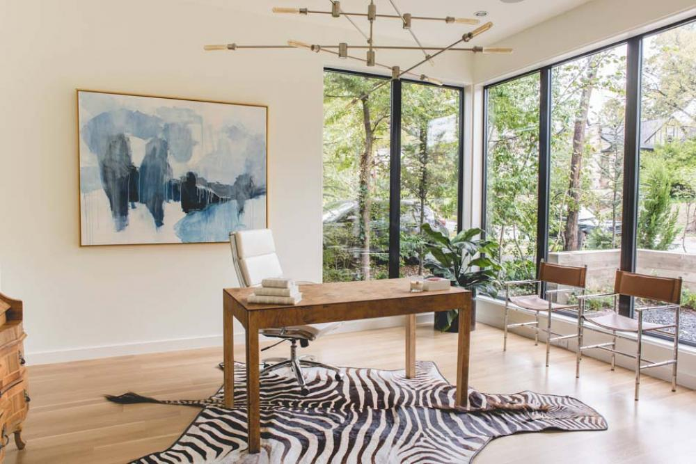 bureau a la maison amenagement luxe