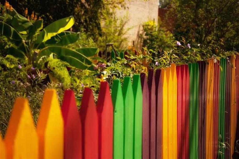 une facade du jardin unique grace a une