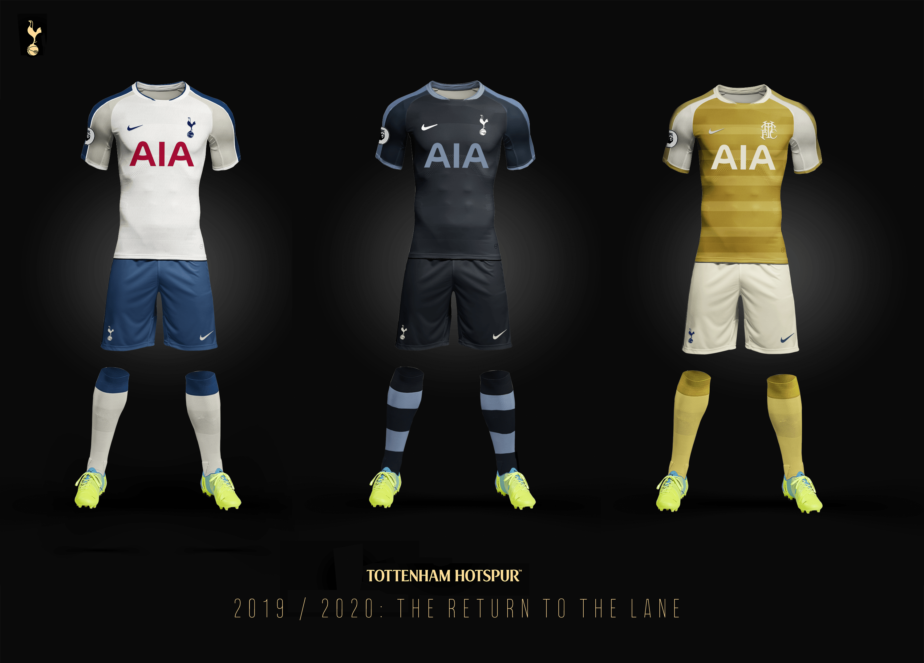 Shop here for your 20/21 spurs home kit, jerseys, shorts and socks with fast shipping! Tottenham Hotspur 2019 2020 Kit Concepts