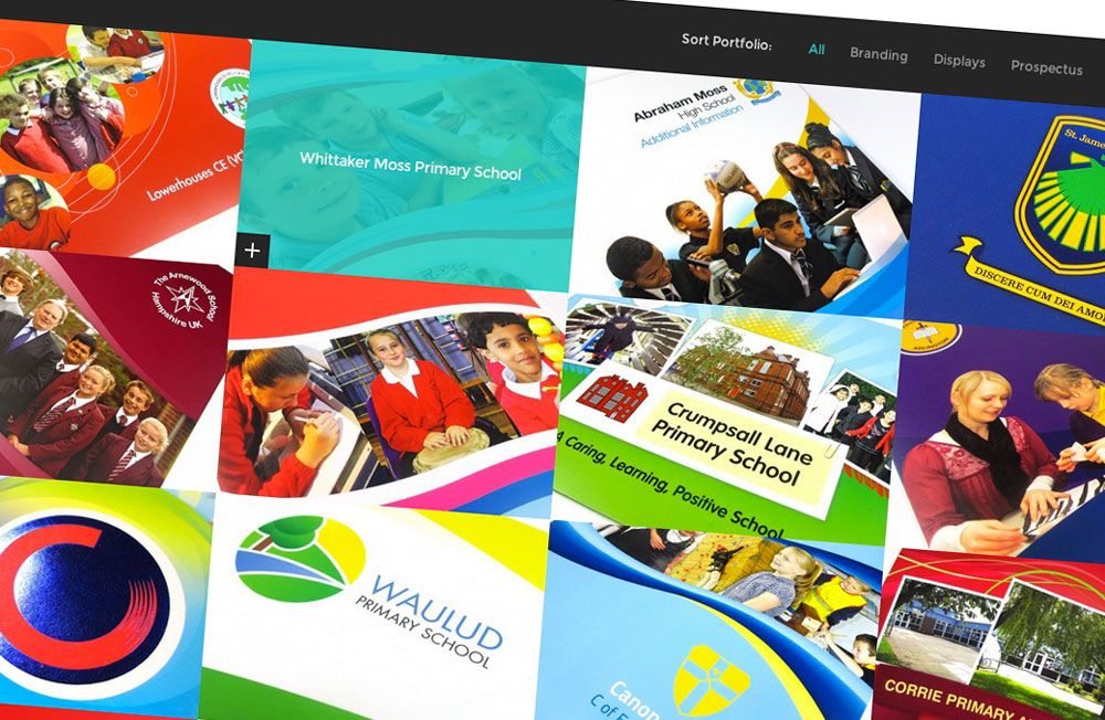 Design For Schools New Website