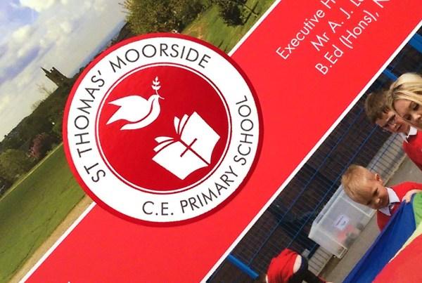 St Thomas Moorside Primary Prospectus Design