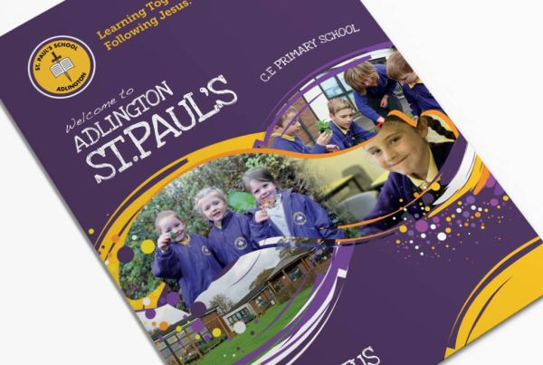 Adlington St Paul's Primary School Prospectus Design