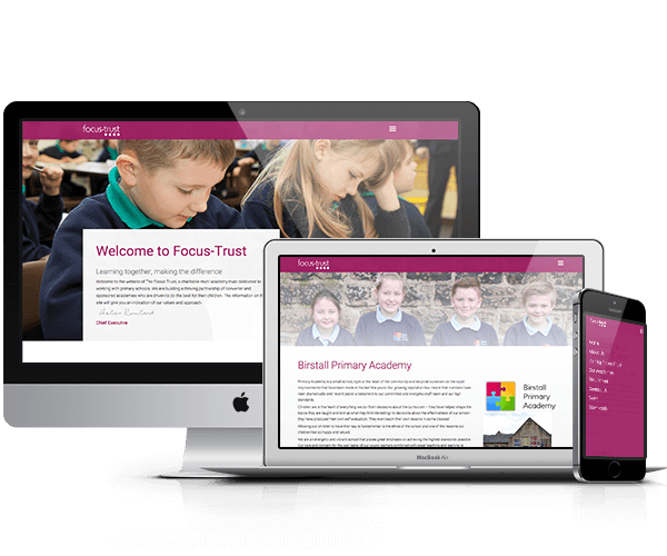 Design For Schools: Academy and Multi-Academy website Design