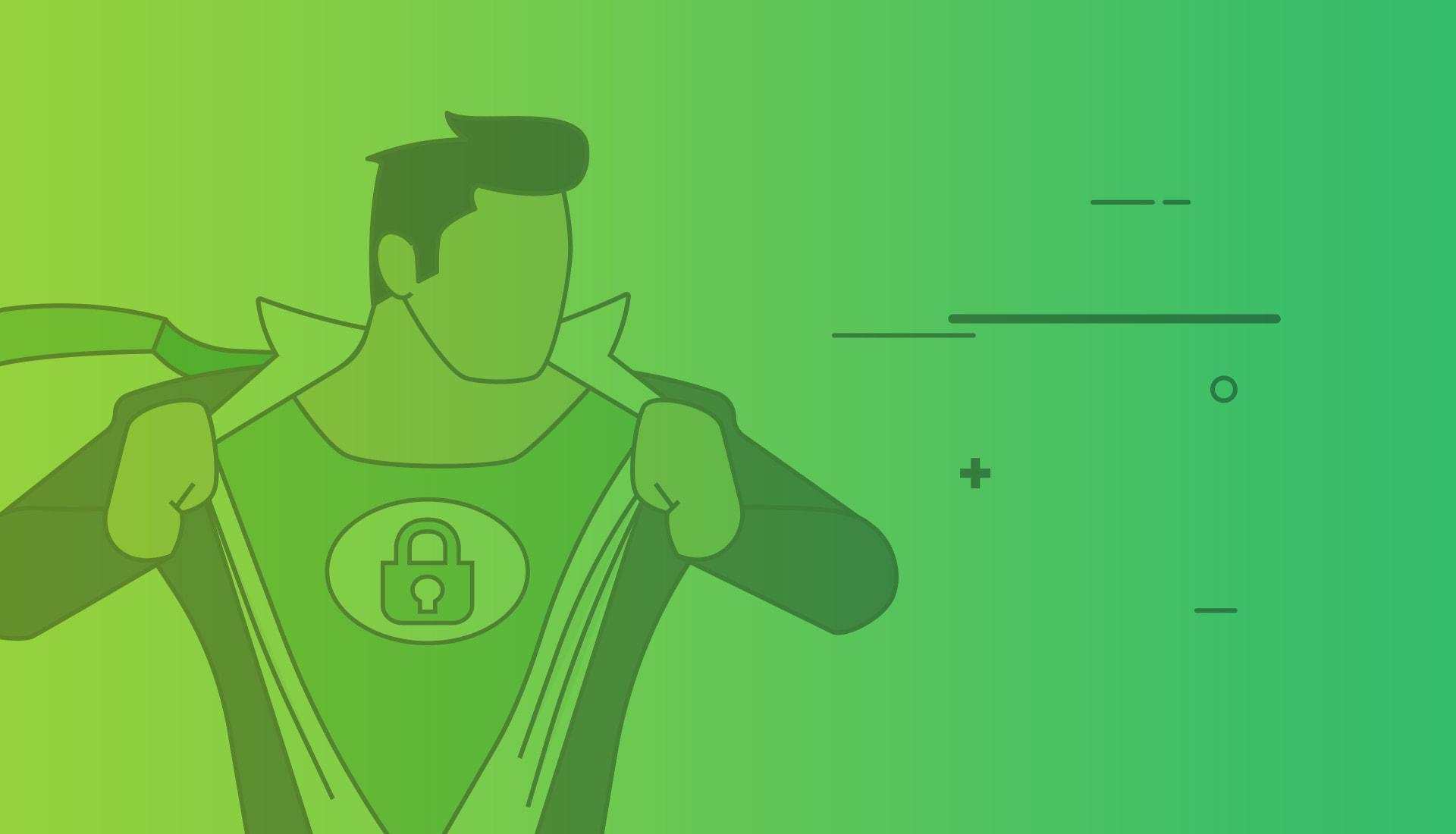 https security man illustration