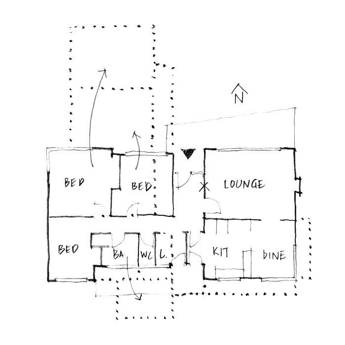 1965 Winstone house plan.