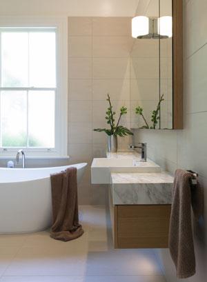 Villa bathroom renovation