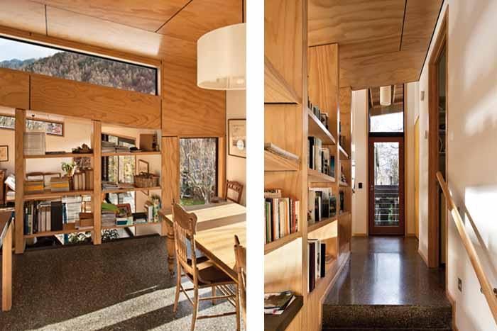 Arrowtown house interior