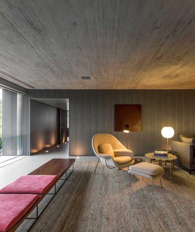 B+B House living room