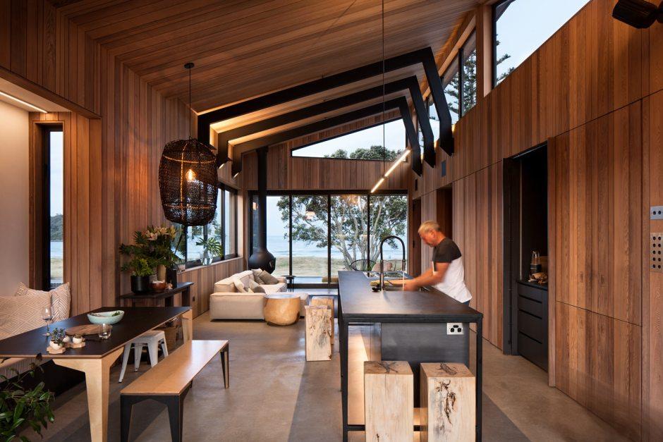 Architecture Bureau Mt Manganui kitchen