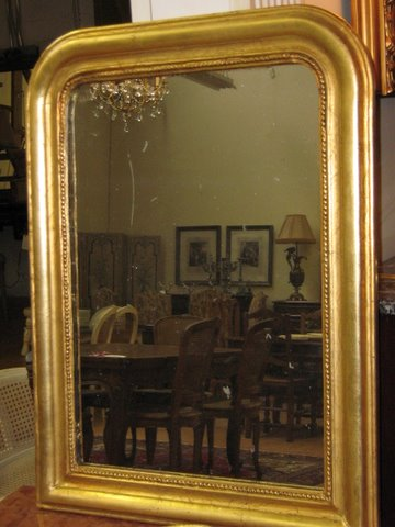 gold louis phillippe mirror