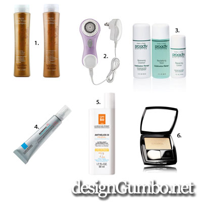 cosmetics and tools