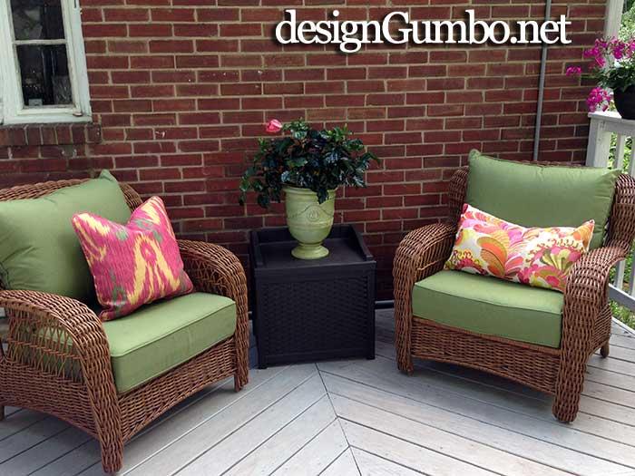 Porch Fantasies & Deck Dreams- Allen & Roth chairs