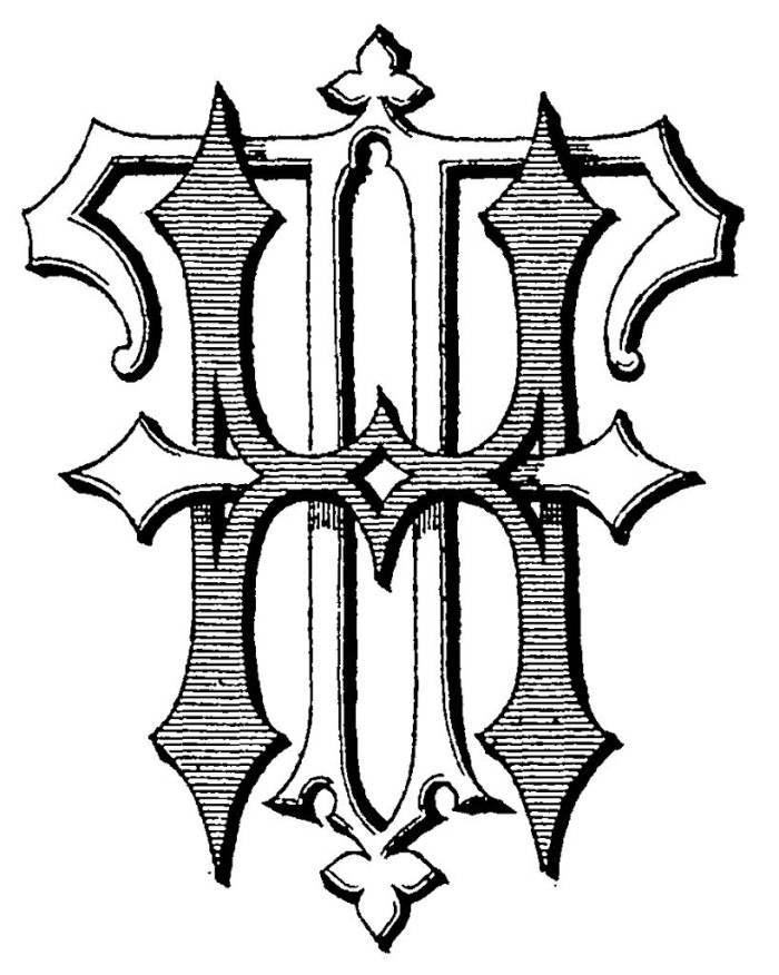 Another monogram style