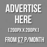 Advertise here from just £7 per month!
