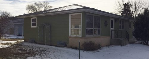 Home exterior remodel before