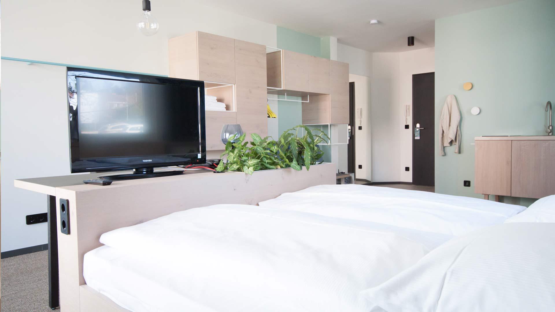 Hotel in Plön mit Seeblick
