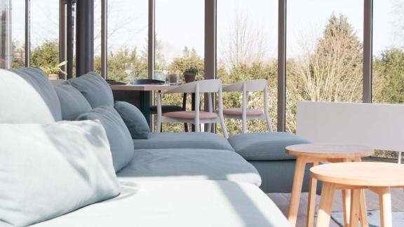Restaurant und Lounge mit Blick auf Plöner See