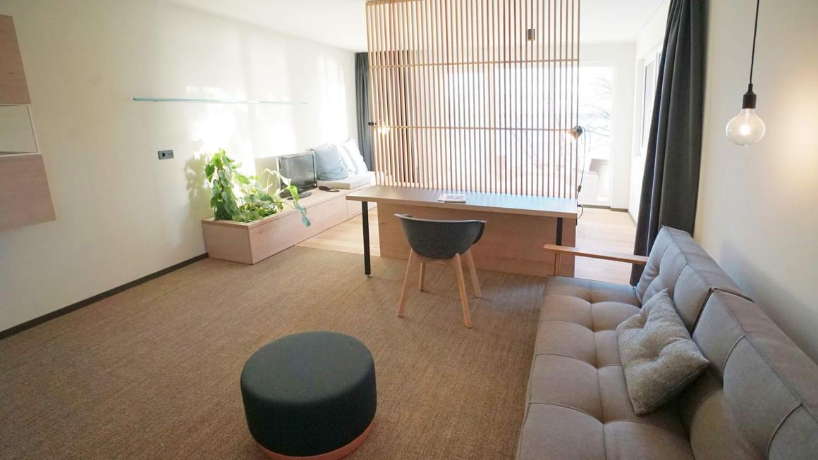 Wellnesshotel in skandinavischem Design