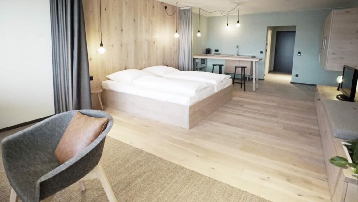 Wellnesshotel skandinavisches Design mit Spa