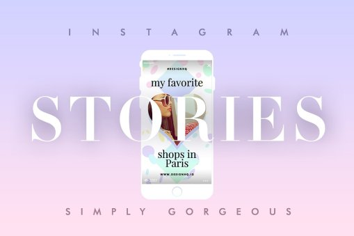 Instagram Stories Template • Simply Gorgeous by Design HQ
